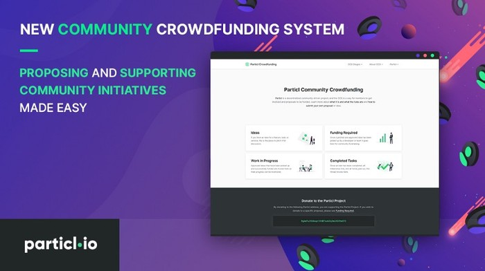 New Community Crowdfunding System