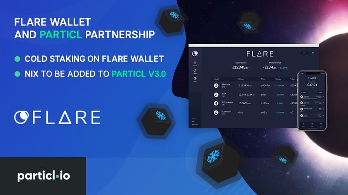 Flare Wallet and Particl Partnership